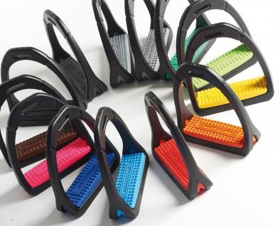 Compositi Steigbügel Profile Premium Polymer farbige Einlagen 2 Größen