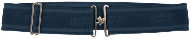 Harry's Horse Deckengurt elastisch one size verstellbare Länge navy und schwarz
