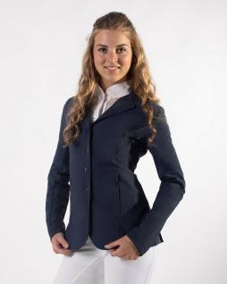 QHP Damen Turnierjacket Novèn Turniersakko mit Mesh. RV und Knöpfen 3 Farben - Vorschau 5