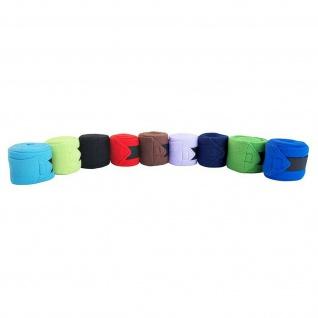Miniline. Fleece Bandagen Shetty. Minishetty 4er Set breiter Klettverschluss