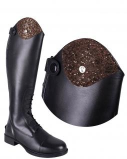 QHP Stiefel-Top Sparkle. austauschbares Oberteil Sparkle für Stiefel Romy