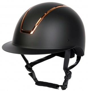 Harry's Horse Sicherheitsreithelm Royal Matt Reitkappe CE VG1 01.040 2014-12