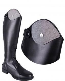 QHP Stiefel-Top Glitter. austauschbares Oberteil Glitter für Stiefel Romy