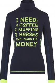 Imperial Riding Damen Rollkragenshirt Cheeky langarm mit coolem Zitat Artwork