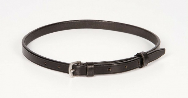 Harry's Horse Sperrriemen Zusatzriemen Pullerriemen Leder schwarz 64 + 67 cm