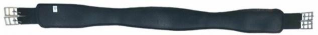 CeraTex anatomischer Sattel-Langgurt. Airprene - 100% Keramikfasern schwarz