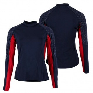 QHP Sport Shirt Eldorado Junior atmungsaktiv mit Q-Cross Emblem Gr. 140 - 176