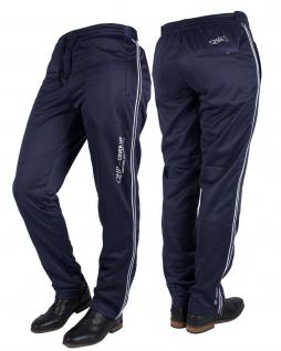 QHP Damen Trainingshose Cover up schützt Ihre Reithose bei Turnieren grau + navy