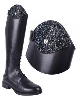 QHP Stiefel-Top Glitz. austauschbares Oberteil Glitz für Stiefel Romy
