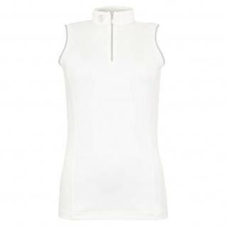 BR Damen Turniershirt Liberia ärmellos Stretch Stehkragen 2 Farben Gr. XS - XL - Vorschau 2