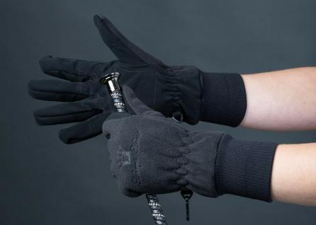 Harry's Horse Winter Handschuhe Fleece wasserdicht atmungsaktiv schwarz