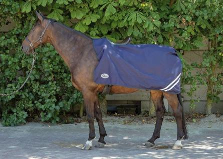 Harry's Horse Ausreitdecke 0 gr. mit Sattelausschnitt wasserdicht reflektierend