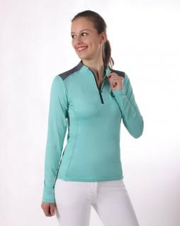 QHP Damen Sportshirt Utah atmungsaktiv Teil der Q-Cross Vielseitigkeitkollektion