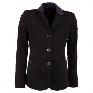 BR Mädchen Turnierjacket Washington Softshell Kragen in Kontrastfarbe schwarz
