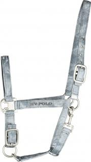 HV Polo Halfter Harper Denim Look 2-fach verstellbar Stickereien Vollblut