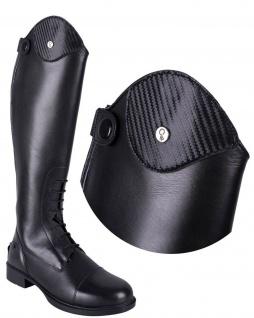 QHP Stiefel-Top Carbon. austauschbares Oberteil Carbon für Stiefel Romy