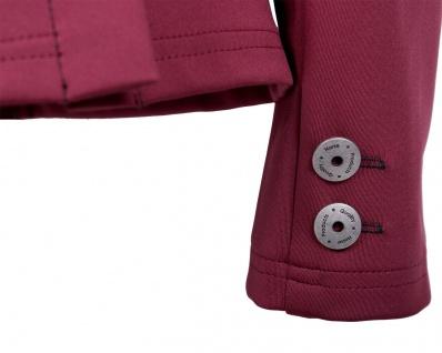 QHP Damen Turniersakko Turnierjacket Coco Adult Softshell Farbdetail Strass red - Vorschau 5