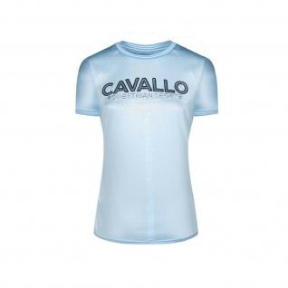 Cavallo Damen T-Shirt PIPER Rundhalsausschnitt Logo -Print auf der Brust