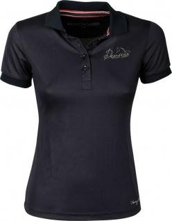 Harry's Horse Damen Poloshirt Denici Cavalli Red. kurzarm. Knopfleiste. Logo