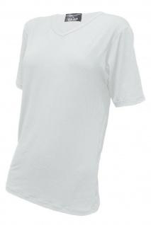 CeraTex Funktions-Shirt mit V-Ausschnitt kurzarm unisex weiß