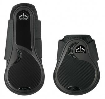 Veredus Gamaschen-Set TRC Vento 4er-Set Front+Rear schwarz+braun dopp. Belüft.