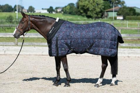 Harry's Horse Stalldecke Highliner 200 Jet-Black Mininacken allover Print