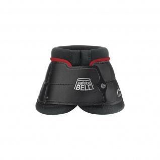Veredus Color Edition Hufglocken Safety Bell Ballenschutz Schwarz/Bordeaux Gr. L
