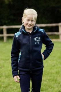 Busse Thermo-Sweatshirt-Jacke m. Kapuze Kids Collection VI RV Sternapplikationen