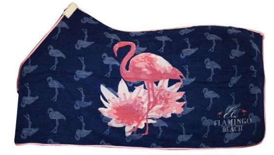 NEU EQuest Kollektion Flamingo Beach Abschwitzdecke Dralon Promotion 135 cm