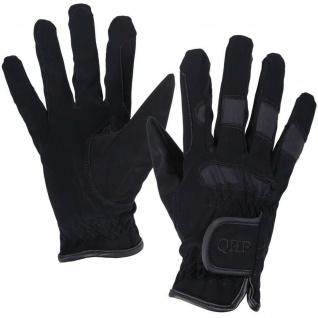 QHP Reithandschuhe Kinder-Handschuhe Multi luftdurchlässig Stretch Klett 4 Farb.