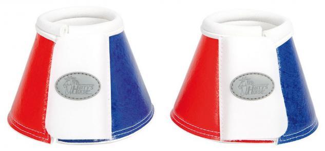 Harry's Horse Hufglocken Flag Springgl Neopren Belgien Frankreich außen PU Klett