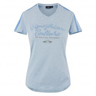 HV Polo Damen T-Shirt Mary kurzarm V-Ausschnitt Logo-Details Sommer 2019