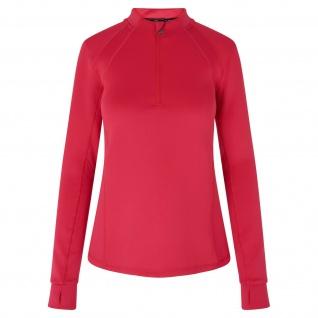 HV Polo Damen Langarmshirt Nikki halber Reißverschluss Overlock-Nähte 2 Farben