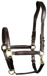 Harry's Horse Luxus Lederhalfter Supreme Halfter Leder sehr weich gepolstert