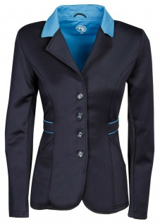 Harry's Horse Damen Turnierjacket Contrast Softshell-Stretch Kragen 2 Farben - Vorschau 2