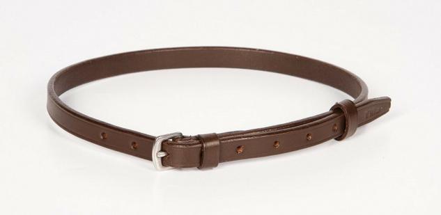 Harry's Horse Sperrriemen Zusatzriemen Pullerriemen Leder braun 64 + 67 cm
