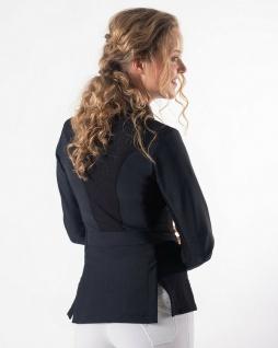 QHP Damen Turnierjacket Novèn Turniersakko mit Mesh. RV und Knöpfen 3 Farben - Vorschau 2