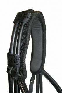 CeraTex Therapeutischer Genickschoner schwarz Keramikfaser Neopren Pony + WB