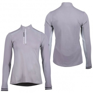 QHP Damen Sportshirt Aleyna UV-beständig atmungsaktiv Mesheinsatz