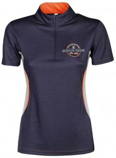 Harry's Horse Damen Turniershirt Dutch ltd. Edition kurzarm Stehkragen kurz RV