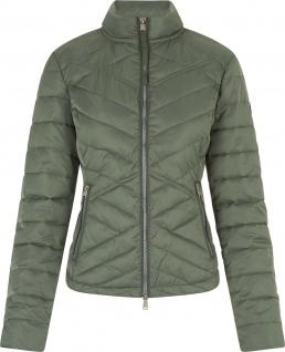 HV Polo Damen-Jacke Cathy gesteppt 2-Wege RV bedrucktes Futter