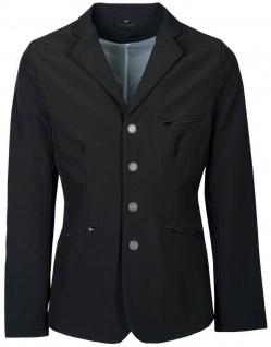 Harry's Horse Jungen Turnierblazer Turnierjacket navy + schwarz dekorat. Abnäher