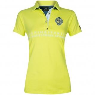 HV POLO Damen Polo-Shirt Becca kurzarm Knopfleiste Prints Stickereien 2 Farben