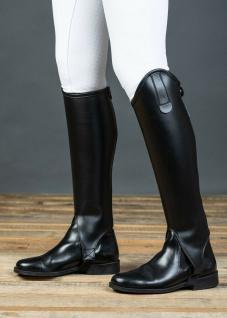 Harry's Horse Stiefelschaft Gaiters Minichaps schwarz RV elastischer Einsatz