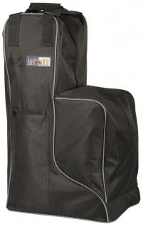 Harry's Horse Stiefeltasche extra Turniertasche schwarz-grau 600D beschi. Nylon