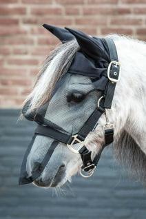 Harry's Horse Fliegenhauben-Kombi Gesichtsmaske mit Halfter und Ohren