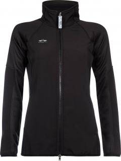 HV POLO PRO Damen Softshell-Jacke Nero Fleece-Futter reflektiertes Logo Gr. S