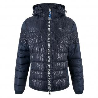 HV POLO Damen gepolsterte Jacke Sorrenta abnehmbare Kapuze Logo Print
