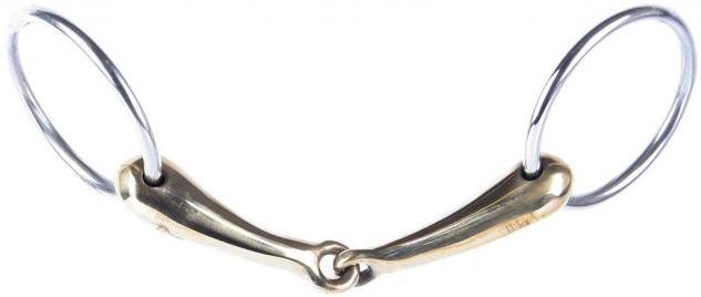 Harry's Horse Wassertrense Kupfer leicht. gebrochen. Stärke 19 mm