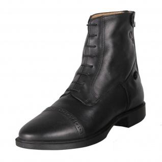 QHP Reitstiefeletten Leder Stiefeletten Jodhpur Toulouse schwarz Gr. 36 - 45